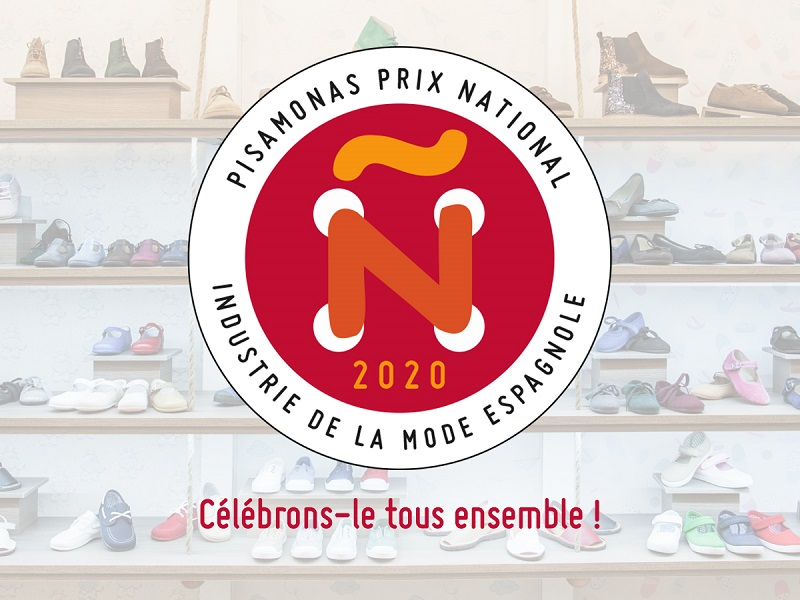 PISAMONAS REÇOIT LE PRIX NATIONAL DE L'INDUSTRIE DE LA MODE ESPAGNOLE 2020 !