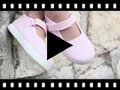 Video from Chaussures Babies Fille à scratch style basket