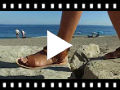 Video from Sandales fille en suède à franges