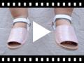 Video from Avarcas pour Bébé en Cuir Suède Brillant