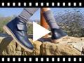 Video from Chukka Boots en Cuir pour l'école avec Fermeture à scratch