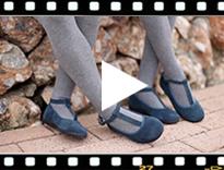Video from Chaussures babies Fille avec fermeture à bracelet