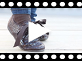 Video from Chaussures Oxford Fille et Femme – Imitation Croco