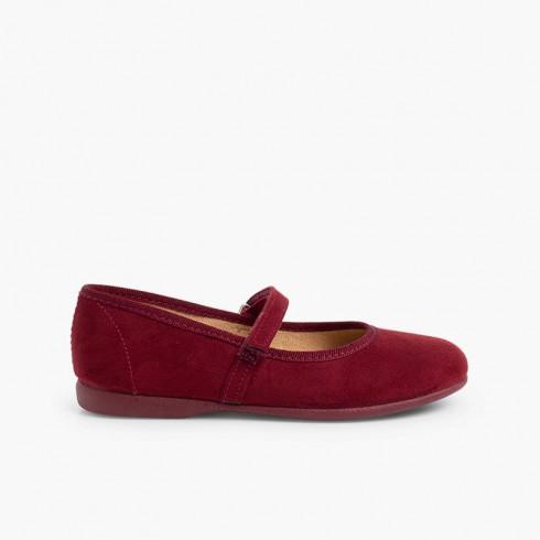 Chaussures fille en serratex avec à scratch