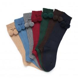 Chaussettes Bébé CONDOR avec pompons
