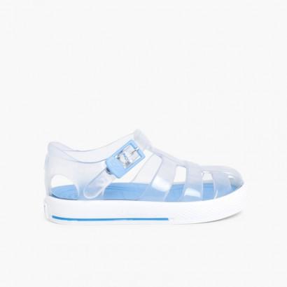 Sandales Plastique Igor modèle Tenis Ciel clair