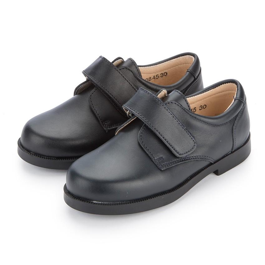 Chaussures d'école avec à scratchs pour Garçon