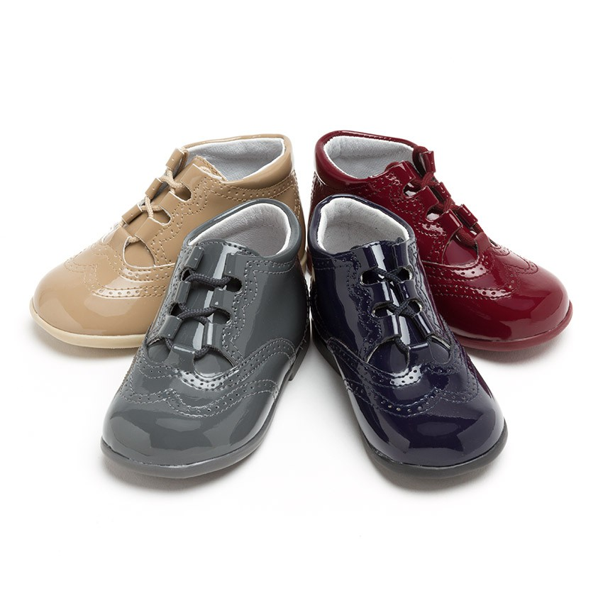 Chaussures Anglaises effet Verni