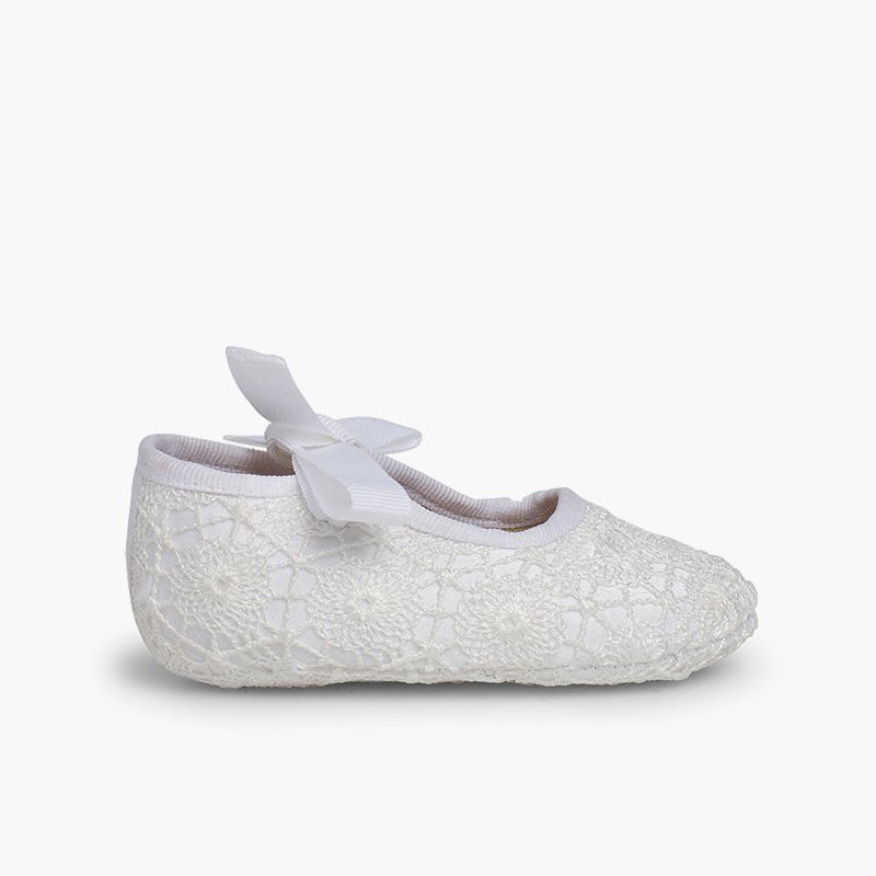 Chaussures Babies Crochet Type Ange