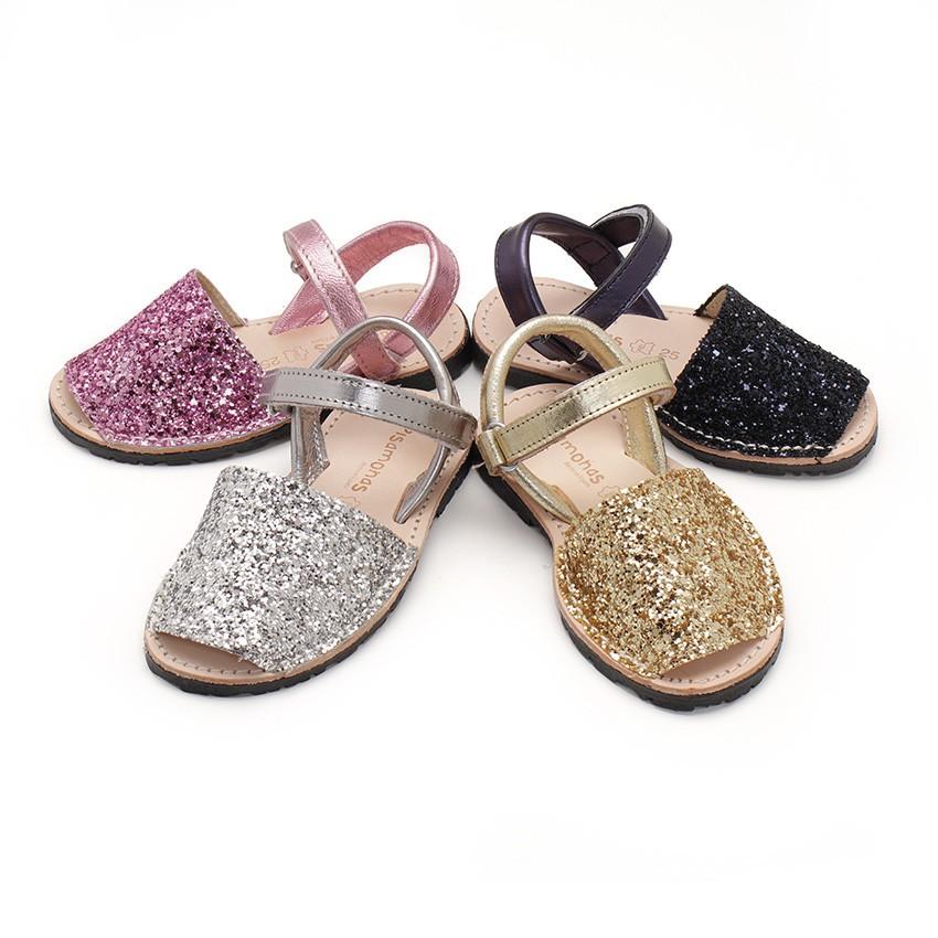 Sandale Avarca Glitter à scratch