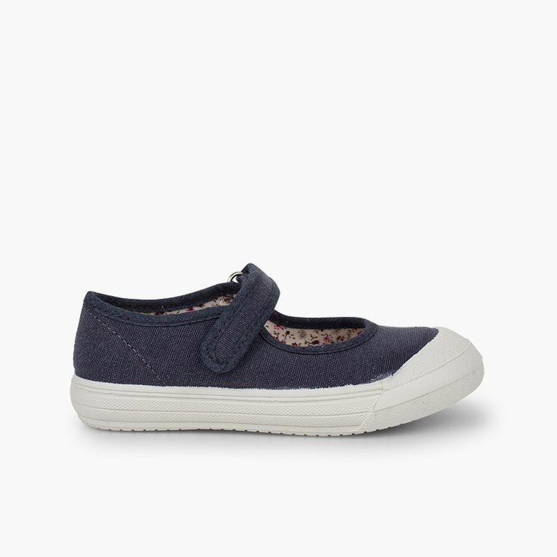 Chaussures Babies à scratch Bout Caoutchouc Renforcé