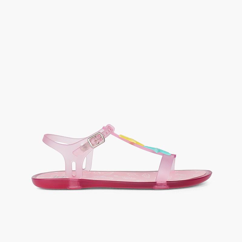 Sandales en caoutchouc à motif étoiles de mer Tricia