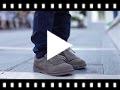 Video from Chaussures en suède Blucher pour enfant