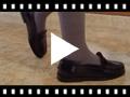 Video from Mocassins fille en cuir pour l'école