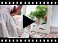 Video from Chaussures babies en Lin avec Velcro fin pour filles
