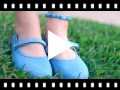 Video from Babies à boucle et Velcro Fin en toile pour Fille