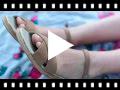 Video from Sandales en serratex à boucle