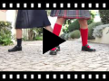 Video from Chaussure Babies d'école Fille Velcro