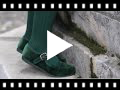 Video from Chaussures Babies Fille en Velours Fermeture à Boucle