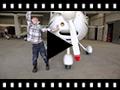 Video from Bottes Enfants en suède Aviateur avec fermeture éclair