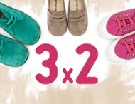 3x2 Pisamonas Chaussures pour Enfants Février 2017