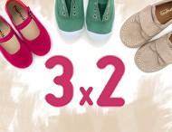 3x2 Pisamonas Chaussures pour Enfants 2017