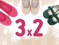 3x2 Pisamonas Chaussures pour Enfants Février