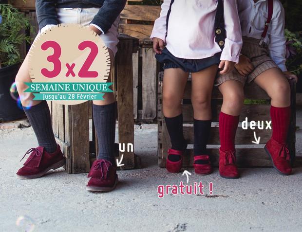 3x2 Chaussures et Accesoires