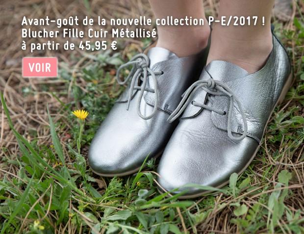 Chaussure Blucher Fille 2017