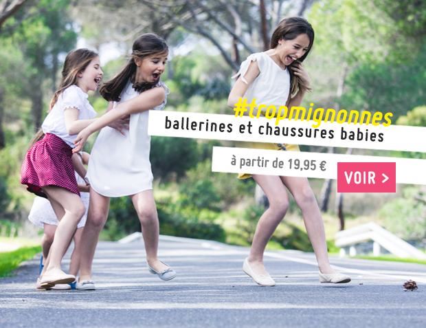 Ballerines Fille Collection Printemps Été 2017