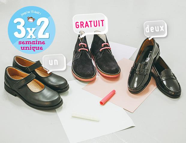 Chaussures école Fille