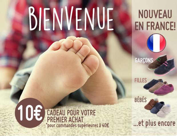 10€ Cadeau de Bienvenue Pisamonas France