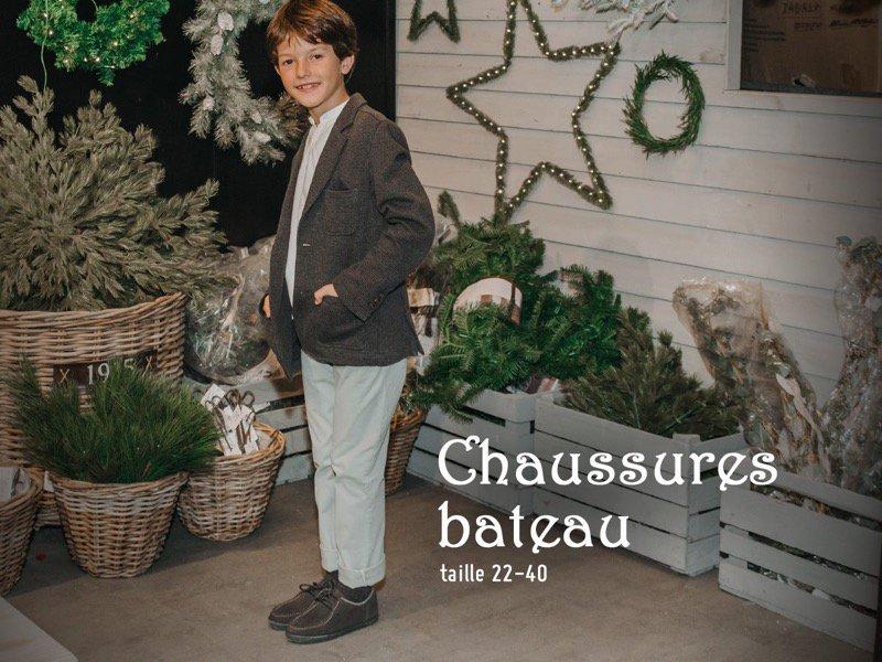 Chaussures élégantes pour garçon