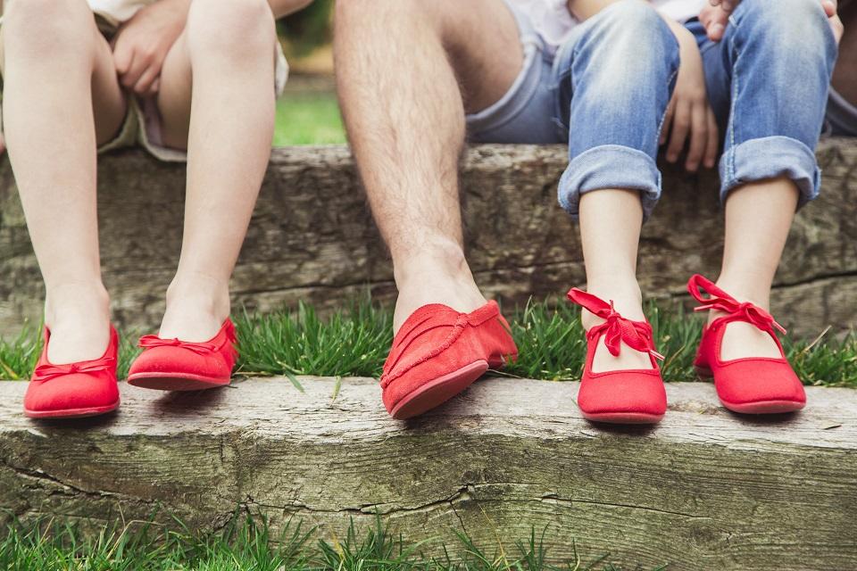 Cromoterapia en tus zapatos