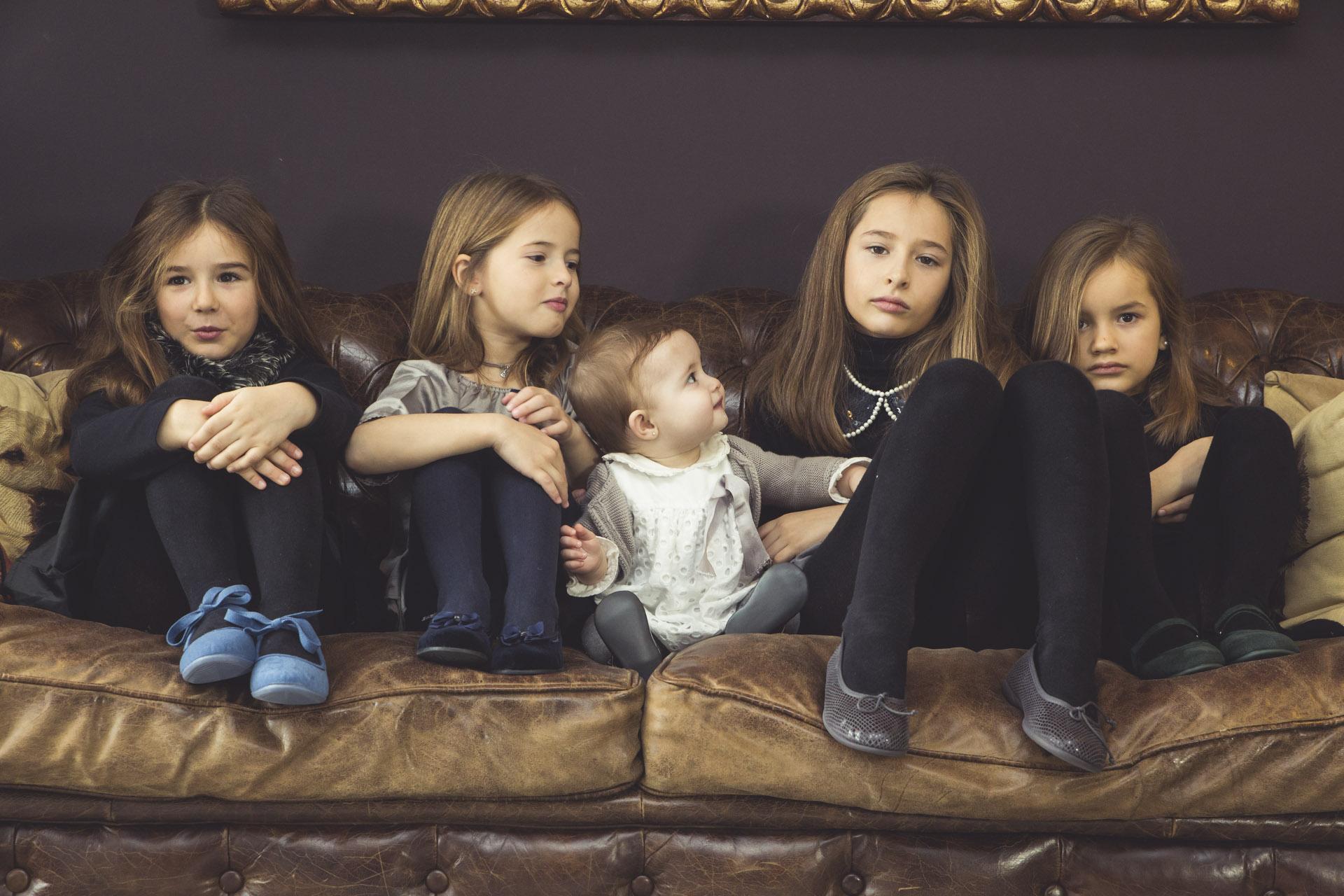 Gamme de chaussures élégantes pour filles