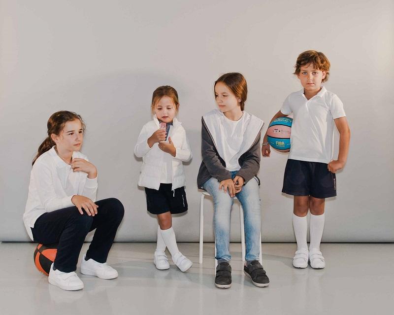 Pisamonas Chaussures scolaires pour le sport