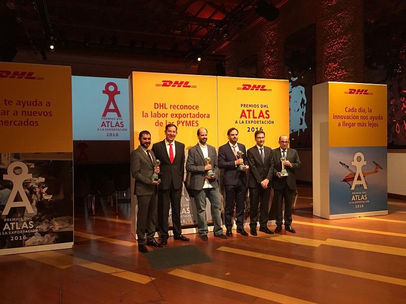 Pisamonas a été récompensée par le DHL Atlas de l'Exportation 2016