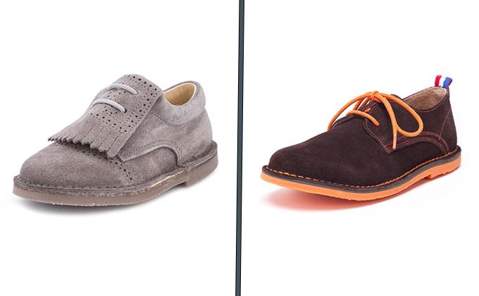 Zapato blucher masculino