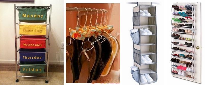 Organizador de ropa y zapatos niños